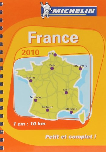 France - Mini atlas 2010 (Michelin Tourist and Motoring Atlases)