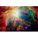 Imagination (Nebula, Albert Einstein Quote) Art Maxi Poster Print - 61x91 cm