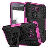 """KATUMO® Etui Tablette Galaxy Tab A 7.0"""", Gel Coque Housse Pochette pour Samsung Galaxy Tab A 7.0 Pouces 2016(SM-T280/SM-285N) Etui de Protection Case Cover-Rose Rouge"""
