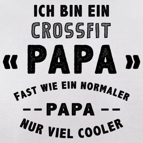 Ich bin ein Crossfit Papa - Herren T-Shirt - 13 Farben Weiß