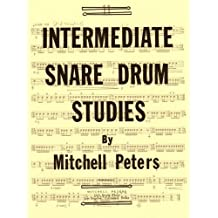 TRY1064 - Intermediate Snare Drum Studies by Mitchell Peters (1976) Paperback