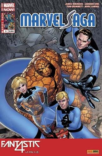 Marvel saga v2 09 : fantastic four - la fin 1/2 par Robinson