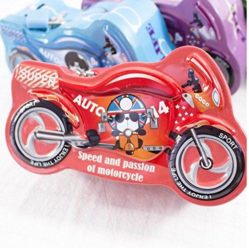 Sun Glower Bancos Dinero Emocionante Motocicleta alcancía