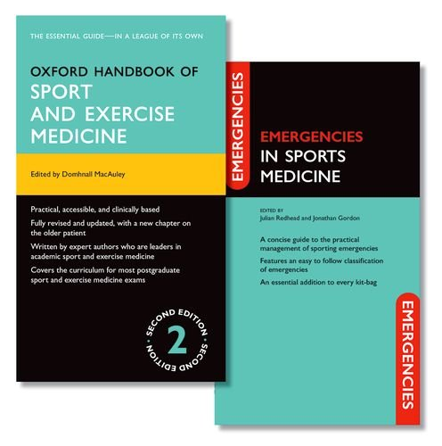 Oxford Handbook of Sport and Exercise Medicine and Emergencies in Sports Medicine Pack (Pack) (Oxford Medical Handbooks)