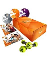 Zumba Fitness  Zumba Gold Live It Up 3 DVD Set, Transparent, One Size, 609132619441