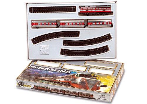 PEQUETREN Tren Talgo articulado con desvíos (Servicios e Industrias d