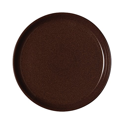 Denby Studio Craft Coupe de Bouleau Assiette, Beige, Céramique, Marron, 26 x 26 x 3 cm
