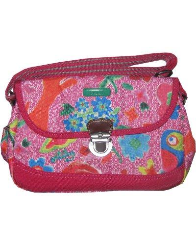 Oilily Funky Flowers S Shoulderbag Pink - Funky Flower Handtasche