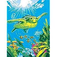 Kinderbadespaß Schwimm Wind-up Schwimmende Schildkroete Sommer Spielzeug fuer Kinder Bad GY 2X