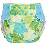 Baby Cloth Diapers Adjustable Reusable Washable For Baby Girls And Boys By ZHCH (CuteTortoise)