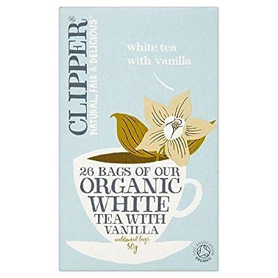 Clipper bio thé blanc à la vanille (26) - Paquet de 2