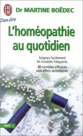 L'homéopathie au quotidien par Martine Boëdec
