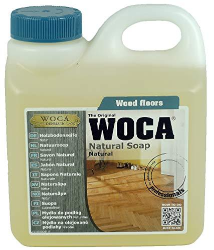 WOCA 511010A Holzbodenseife Natur 1 Liter