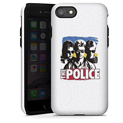 Apple iPhone X Silikon Hülle Case Schutzhülle The Police Fanartikel Merchandise Sting Tough Case glänzend