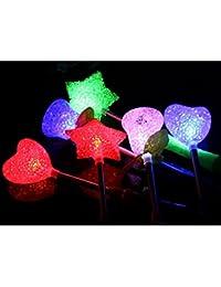 Reixus (TM) dr?le Star / Rose / Coeur design Available Light-up Party Jouets LED Jouets