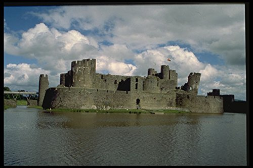 612010 Caerphilly Castle And Moat Wales A4 Photo Poster Print 10x8 -