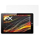 atFolix Folie für Chuwi Hi10 Displayschutzfolie - 2 x FX-Antireflex-HD hochauflösende entspiegelnde Schutzfolie