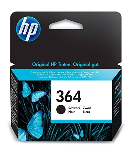 Hp 364 cartuccia originale getto d'inchiostro, standard, nero