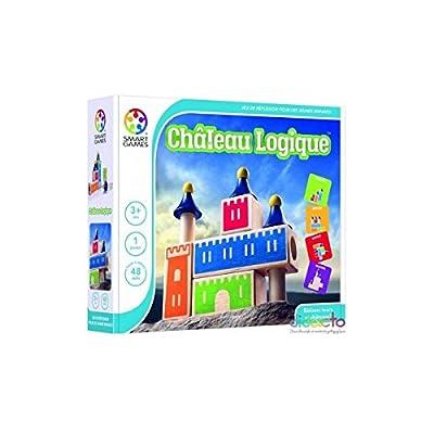 Smartgames - SG 030 FR - Château Logique - Jeu de Réflexion de Logique et d'Observation