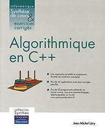 Algorithmique en C++ : Synthèse de cours et exercices corrigés