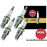 NGK V-LINE 10 BPR6EY 3577 Bujías de Encendido, 4 piezas