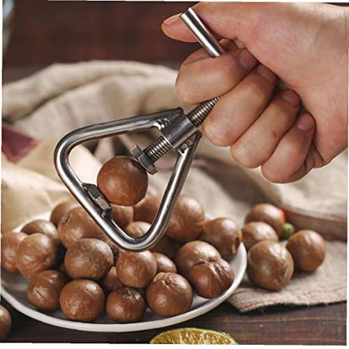 Byfri Manuelle Macadamia-Nuss-Öffner-Nuss-Maschine Walnuss Nussknacker Nuss Sheller Werkzeug Macadamia Nut Öffnungsküchenzubehör