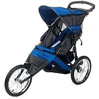 InStep Spann Run Around LTD Joggen Kinderwagen (schwarz/blau)