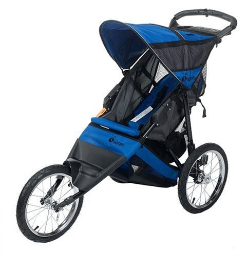 InStep Spann Run Around LTD Joggen Kinderwagen (schwarz/blau)