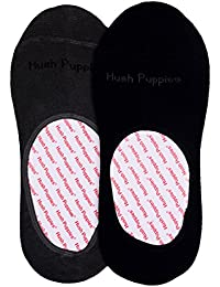 Hush Puppies Men's Loafers No-Show Ankle Soft Combed Cotton Pack of 2 Pair Socks