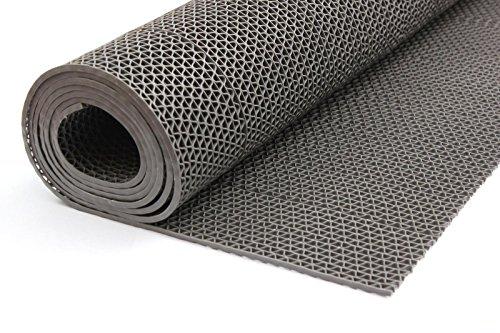 Gummiprodukt: PVC Bodenmatte für Sauna, Dusche usw. in 90mm oder 120mm Breite und 4 Farben (grau,...