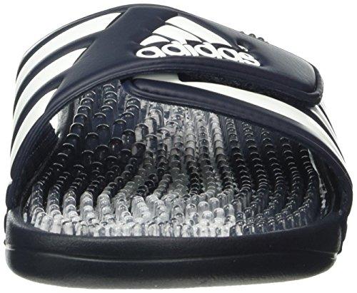 adidas Santiossage Qd, Tongs Homme Multicolore - Negro / Blanco (Nuenav / Clear / Blanco)