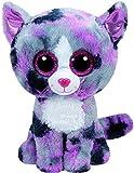 Carletto Ty 37172 - Lindi mit Glitzeraugen, Glubschi's, Beanie Boo's Katze, 15 cm, pink