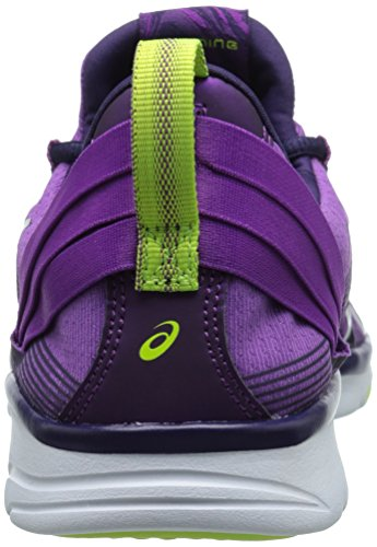 Asics Gel-Fit Sana 2 Toile Chaussure de Course Grape-Dark Berry-Flash Yellow