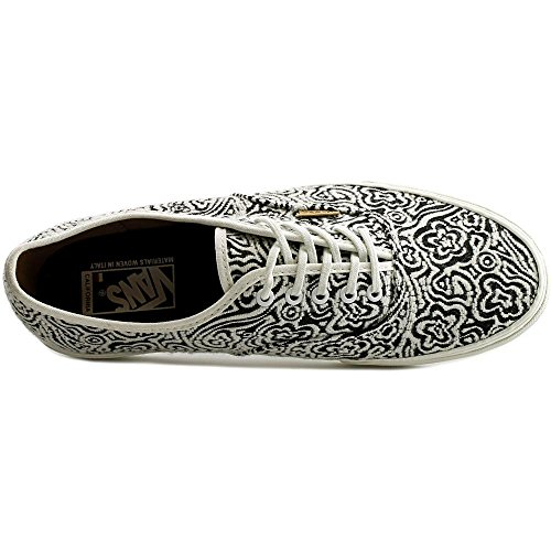 Vans Authentic CA, italian weave blanc de blanc-black italian weave blanc de blanc-black