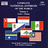 National Anthems of the World, Vol. 4: Laos - Oman