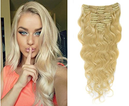 moresoo-22inch-125g-9pcs-100-unprocessed-body-wave-virgin-real-human-hair-bleach-blonde613-clip-in-h