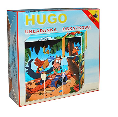 Tupiko TupikoH9 Hugo Picture Puzzle Set (9 Piezas)