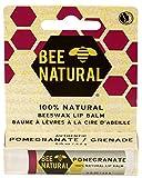 Bee Natural Lippenbalsam - Pomegranate (Granatapfel) 12er Pack