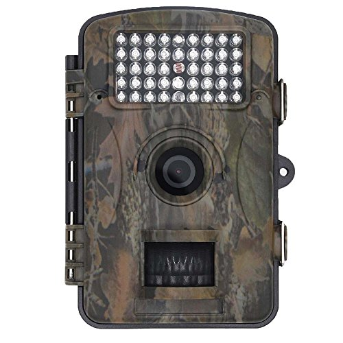 Digital Pir-cam (blupow 12MP 1080P HD Jagd Kamera mit 120° Weitwinkel Trophy Cam Wasserdicht, IR-LED Trail Camera Digital Wildlife Kamera)
