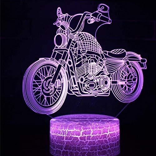 Lampe de table décorative USB DC 5V USB de la lumière de nuit LED de la série 3D de la voiture