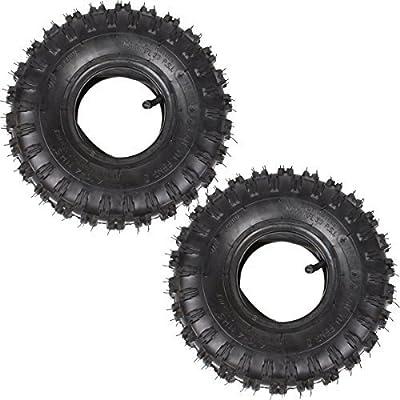 wingsmoto 4.10–4410–44.10/3,50–4Reifen Reifen + Schlauch für Garten rototiller Schneefräse Go Cart Kid ATV Stück 2Sets