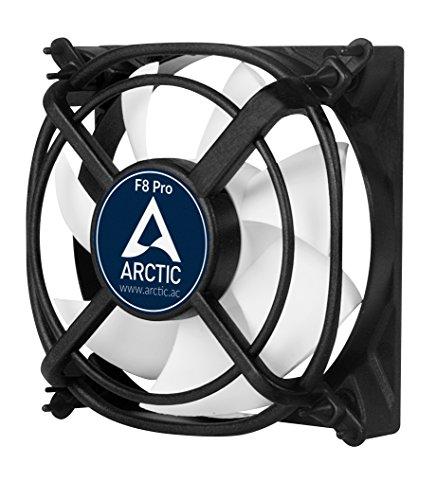 Preisvergleich Produktbild ARCTIC F8 Pro - 80 mm Gehäuselüfter mit Vibrationsabsorption / Case Fan für äußerste Laufruhe I patentierte schwingungsdämpfende Lüfterhalter
