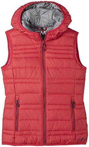 wholesale dealer 7ff7c 76df5 Dettagli su CMP - F.lli Campagnolo, Piumino smanicato Bambina, Rosso  (Campari/Grey Melange),