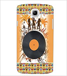 PrintDhaba Music D-4188 Back Case Cover for SAMSUNG GALAXY MEGA 5.8 (Multi-Coloured)