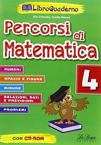 Percorsi di matematica. Per la Scuola elementare: 4