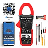 HoldPeak HP-570C-APP DC Clamp Meter APP Supported,Volt Amp Ohm...