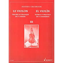 CRICKBOOM - El Violin Teorico y Practico 3º