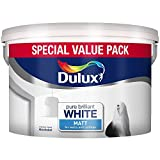 Dulux Matt Paint, 7 L - Pure Brilliant White