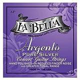 La Bella AP, Argento Pure Silver Hand Polished, Edle Saiten für klassische Gitarre