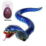 Fernbedienung Schlange Spielzeug, Lumisun Realistische Remote Control Naja Cobra Spielzeug Kostenpflichtige Lebensechte Radio Control IR Snake Witz Scary Trick Bugs für Party